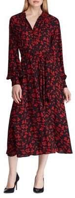 Lauren Ralph Lauren Printed Georgette Dress