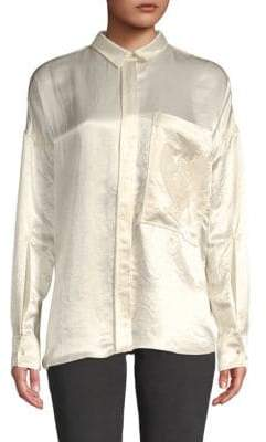 Zadig & Voltaire Tamara Embroidered Shirt