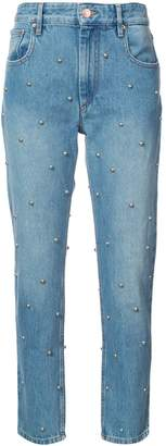 Etoile Isabel Marant stud embellished straight jeans