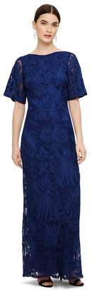 Phase Eight Blue Cecily Tapework Dress