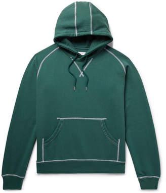 Pop Trading Company Logo-Print Fleece-Back Cotton-Jersey Hoodie