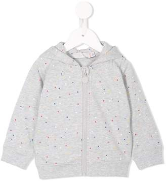 Stella McCartney spotty print hoodie
