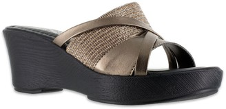 Easy Street Shoes Tuscany by Lucette Women's Wedge Sandals