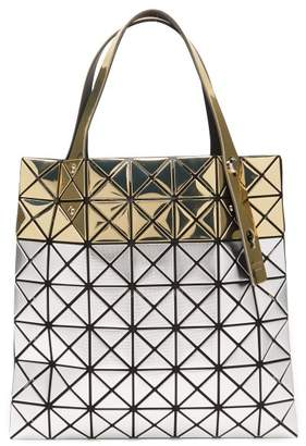 Bao Bao Issey Miyake Platinum Stardust Tote - Womens - Silver Gold d54a79f652904