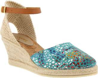 Spring Step Azura by Leather Espadrilles - Kaitlin