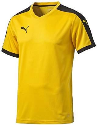Puma Children's Short-Sleeve Shirt Dip - Yellow