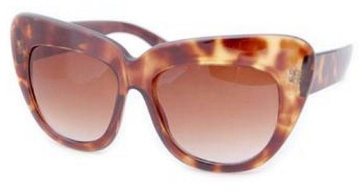 Vintage Sunglasses Smash CORFU Cat Eye Sunglasses - Tortoise