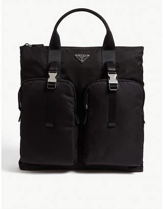 Prada Nylon backpack tote