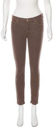Mother Mid-Rise Corduroy Pants