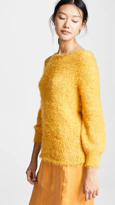 BB Dakota Shrug it Off Boucle Balloon Sleeve Sweater