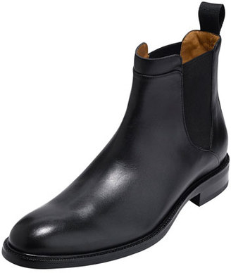 Cole Haan Warren Waterproof Leather Chelsea Boot, Black $250 thestylecure.com
