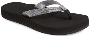Women's Reef 'Star' Flip Flop $37.95 thestylecure.com
