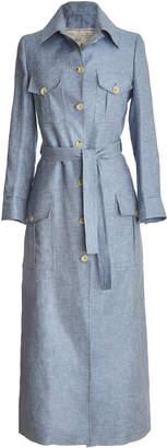 Giuliva Heritage Collection Long Sleeve Safari Dress
