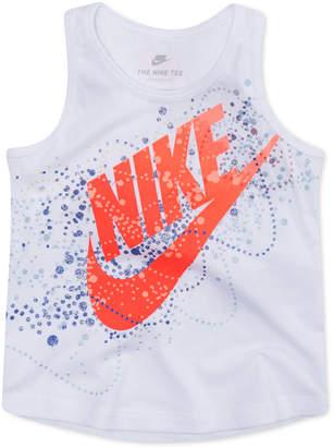 Nike Little Girls Graphic-Print Cotton Tank Top