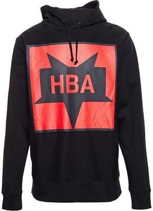 Hood by Air logo print hoodie