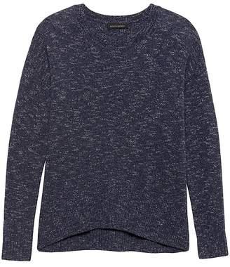 Banana Republic Relaxed Space-Dye Sweater