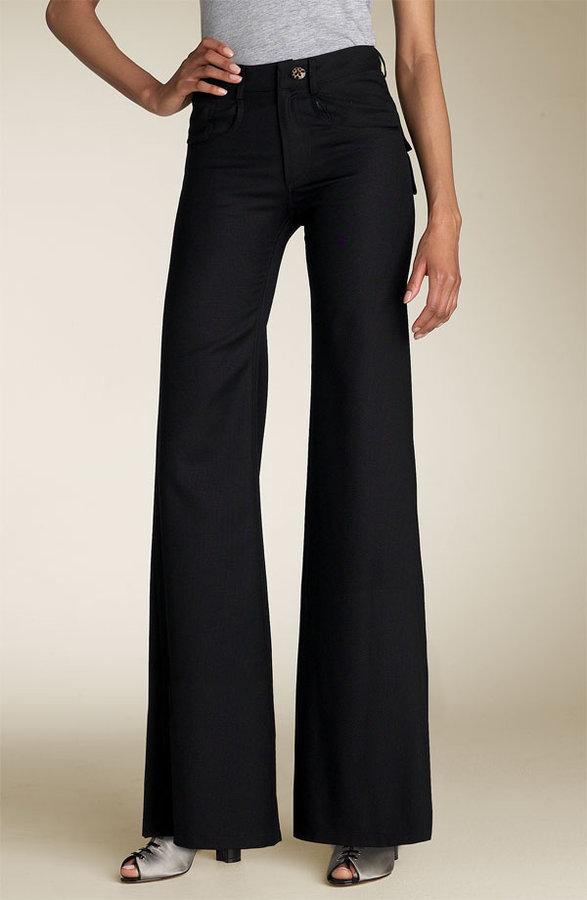 Sara Berman High Waist Pants with Bow Detail