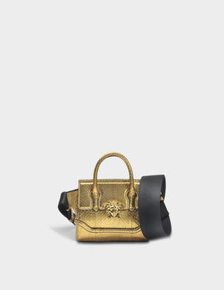 cadebbdcf89c Versace Palazzo Empire Mini Bag in Gold Watersnake