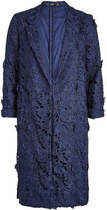 Steffen Schraut Embroidered Lace Coat