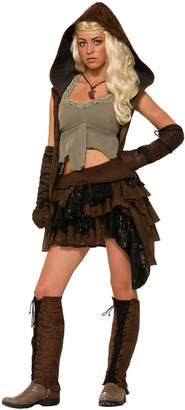 Forum Novelties Men's Medieval Fantasy Rogue Female Warrior Costume