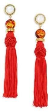 Lizzie Fortunato Jambo Tassel Earrings