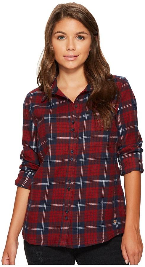 Roxy - Heavy Feelings Long Sleeve Shirt Women's Long Sleeve Button Up