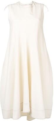 Jil Sander sleeveless midi dress
