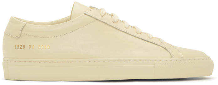 Common Projects Off-White Original Achilles Low Sneakers