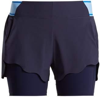LNDR Turf scalloped shorts
