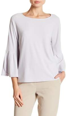 Vince Camuto Solid Bell Sleeve Blouse