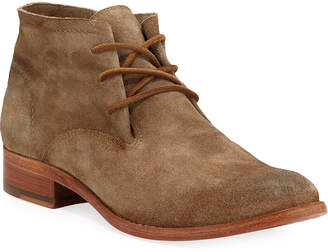 Frye Carly Suede Chukka Booties