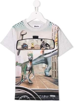 Molo dinosaur mirror print T-shirt