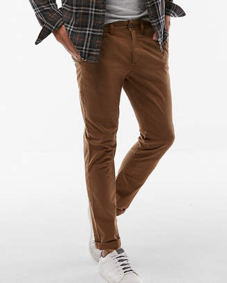 Express Skinny Stretch Garment Dyed Chino