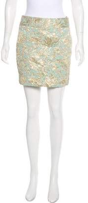 Dolce & Gabbana Brocade Mini Skirt