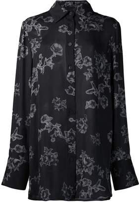 Vera Wang floral print shirt