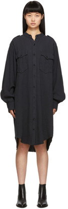 Etoile Isabel Marant Black Jasia Dress
