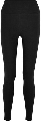 James Perse - Fleece Leggings - Black $165 thestylecure.com