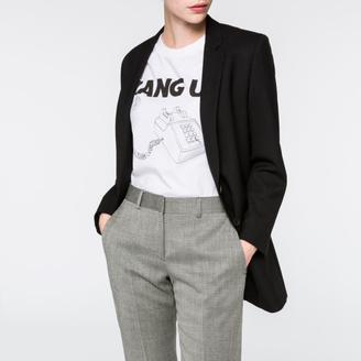 Women's Black Merino Wool Blazer $675 thestylecure.com