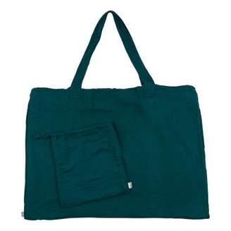 Numero 74 Cotton shopping bag and envelope - Petrol Blue