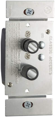 Rejuvenation Trimmed Push-Button Dimmer Switch