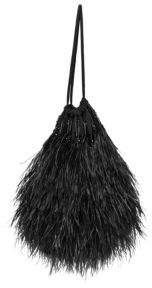 ATTICO Ostrich Feather Pouch Bag