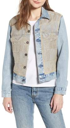 Levi's Made & Crafted(TM) Boyfriend Denim Trucker Jacket