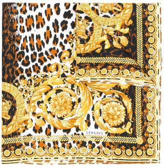 Versace printed neck scarf