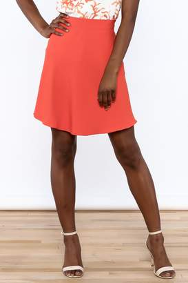 Cooper & Ella Orange High Waist Skirt