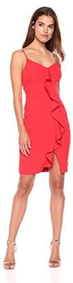 GUESS Women's Dress with Ruffle Detail