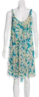 Diane von Furstenberg Printed Sleeveless Dress