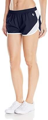 Soffe Women's Woven Mesh Insert Short