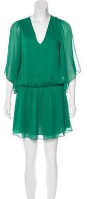 Alice + Olivia Long Sleeve Mini Dress