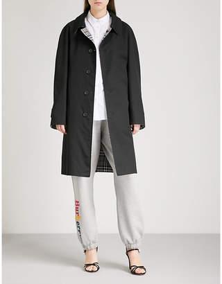 Burberry Reversible gabardine trench coat