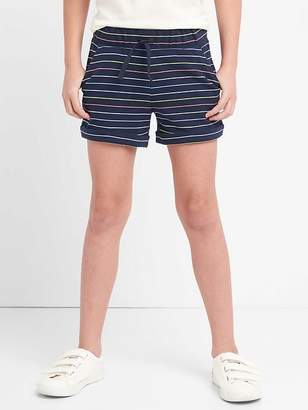 Gap Stripe Roll Short in French Terry